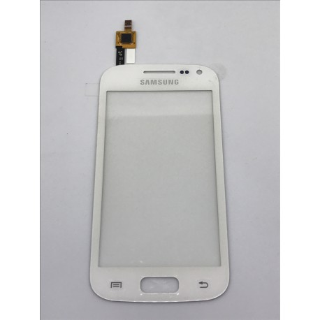 Vitre Tactile ORIGINALE Blanche + Adhésifs - SAMSUNG Galaxy ACE 2 - i8160