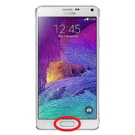 [Réparation] Nappe de Bouton HOME ORIGINALE - SAMSUNG Galaxy NOTE 4 - N910A / N910C / N910F