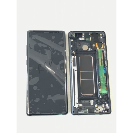 Bloc Avant ORIGINAL Noir Carbone - SAMSUNG Galaxy Note8 / SM-N950F / SM-N950F/DS