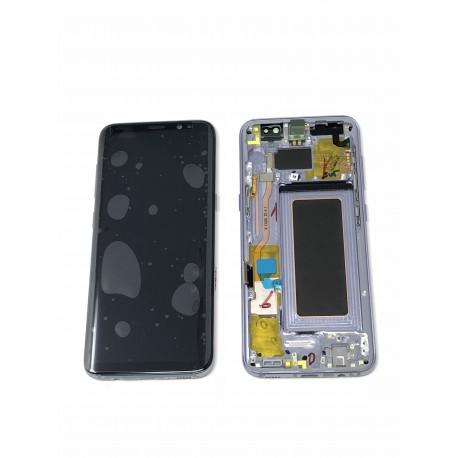 Bloc écran ORIGINAL Orchidée / Violet pour SAMSUNG Galaxy S8 - G950F - Présentation avant / arrière