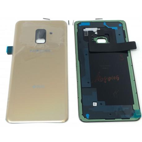 Vitre Arrière ORIGINALE Or Topaze - SAMSUNG Galaxy A8 2018 / SM-A530F/DS Double SIM