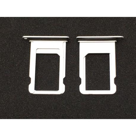 Tiroir de carte sim ORIGINAL - iPhone 8 Argent