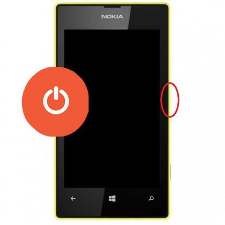 [Réparation] Bouton POWER ORIGINAL - NOKIA Lumia 550 / 630 / 635 / 640 / 650 / 730 / 735 / 930