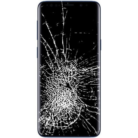 [Réparation] Ecran Complet ORIGINAL Bleu Corail - SAMSUNG Galaxy S9 / SM-G960F