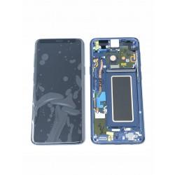 Bloc écran Complet ORIGINAL Bleu Corail - SAMSUNG Galaxy S9 / SM-G960F