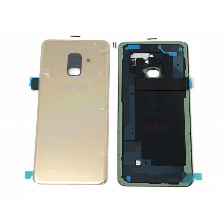Vitre Arrière ORIGINALE Or Topaze - SAMSUNG Galaxy A8 2018 / SM-A530F