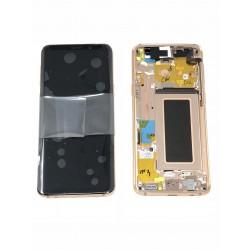 Bloc écran Complet ORIGINAL OR Rose - SAMSUNG Galaxy S9 / SM-G960F