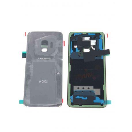 Vitre Arrière ORIGINALE Gris Titane - SAMSUNG Galaxy S9 / SM-G960F/DS - Avant / Arrière