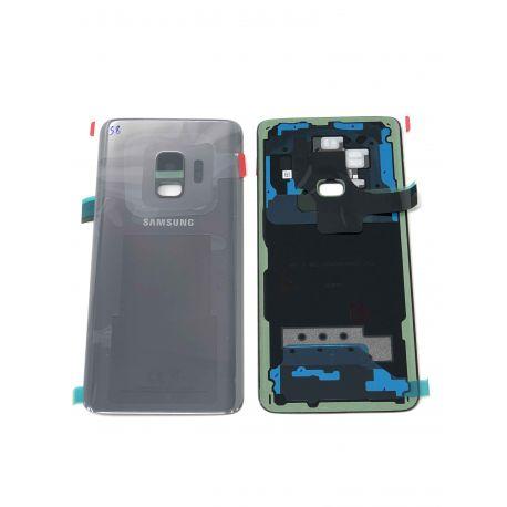 Vitre Arrière ORIGINALE Gris Titane - SAMSUNG Galaxy S9 / SM-G960F - Avant / Arrière