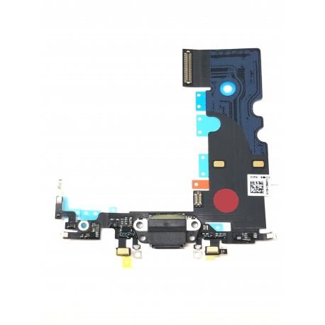 Connecteur de charge de qualité original noir pour iPhone 8 Gris Sidéral - Présentation avant