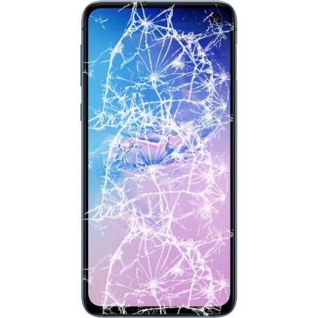 [Réparation] Bloc écran complet ORIGINAL Bleu Prisme pour SAMSUNG Galaxy S10e - G970F
