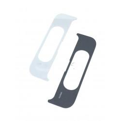 Cache intérieur du slide ORIGINALE argent pour SAMSUNG Galaxy A80 - A805F - Présentation avant / arrière