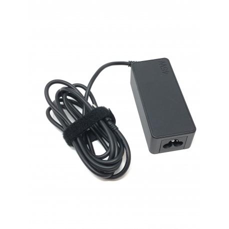 Bloc d'alimentation secteur ORIGINAL USB type C 45W pour LENOVO - Présentation dessus