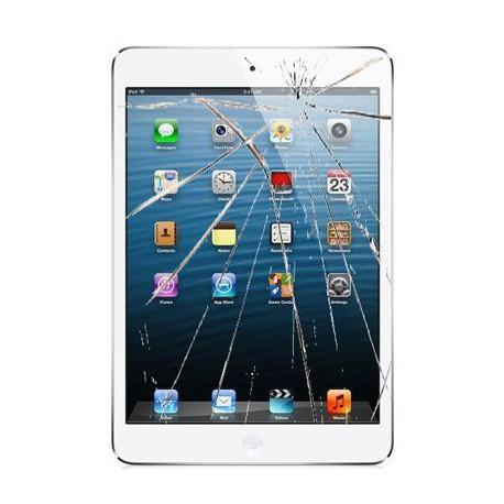 [Réparation] Vitre Tactile ORIGINALE Blanche + Adhésifs - iPad 2