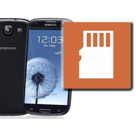 [Réparation] Lecteur Carte Mémoire ORIGINAL - SAMSUNG Galaxy S3 Mini - i8190