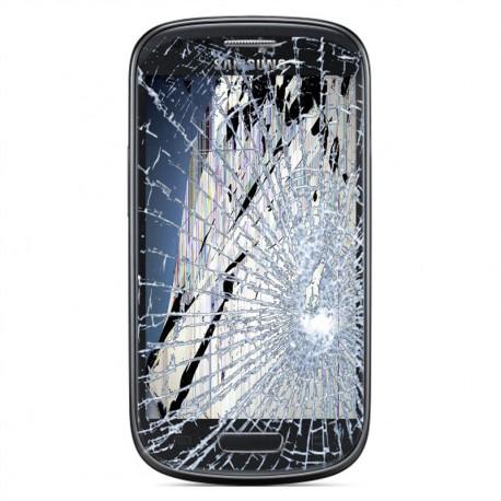 [Réparation] Bloc Avant ORIGINAL Noir - SAMSUNG Galaxy S3 Mini - i8190