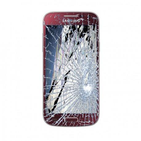 [Réparation] Bloc Avant ORIGINAL Rouge - SAMSUNG Galaxy S4 Mini - i9195