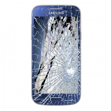 Forfait Réparation Bloc Avant Bleu ORIGINAL - SAMSUNG Galaxy S4 Mini i9195