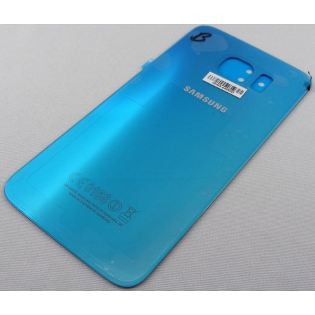 Vitre Arrière - Cache Batterie Bleu ORIGINAL - SAMSUNG Galaxy S6 G920F