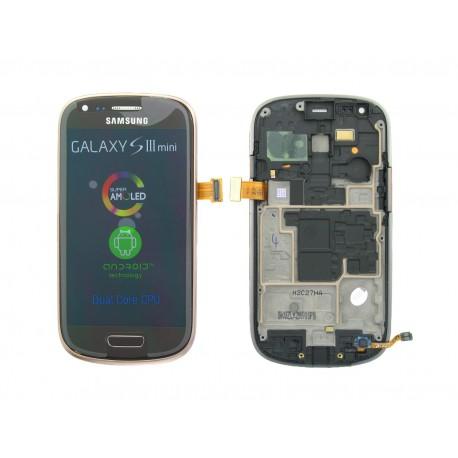 Bloc Avant Marron ORIGINAL - SAMSUNG Galaxy S3 Mini i8190