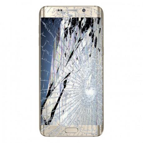 [Réparation] Bloc Avant ORIGINAL Or - SAMSUNG Galaxy S6 Edge Plus - G928F