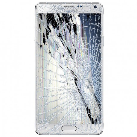 [Réparation] Bloc Avant ORIGINAL Blanc - SAMSUNG Galaxy NOTE 4 - N910
