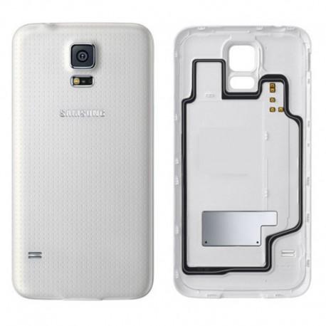 Cache Batterie BlancORIGINAL - SAMSUNG Galaxy S5 G900F