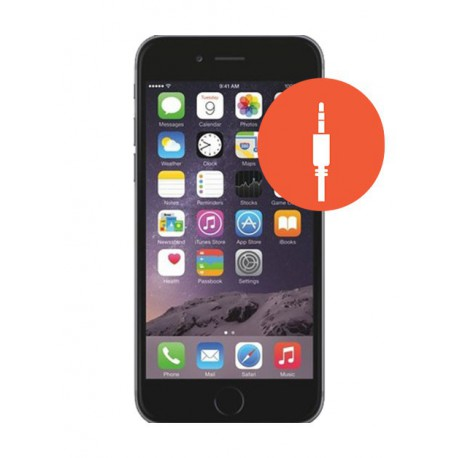 [Réparation] Prise JACK ORIGINALE - iPhone 6S Gris Sidéral